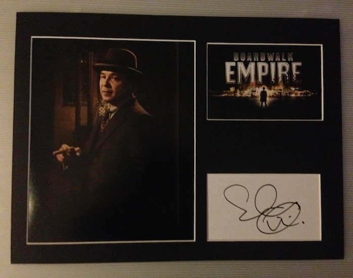 Stephen Graham Autograph Signed 12x16 Display