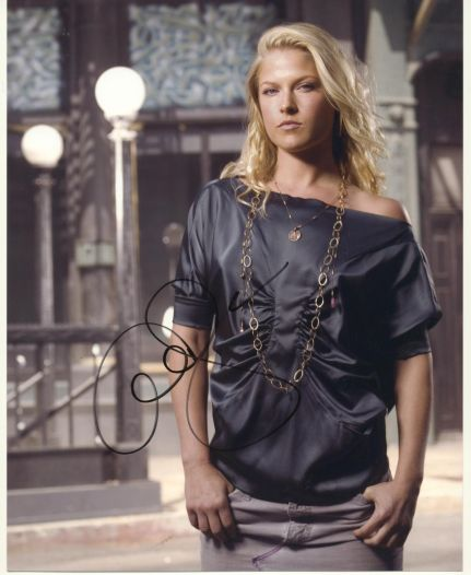 Ali Larter Autograph Heroes Signed 8x10 Photo