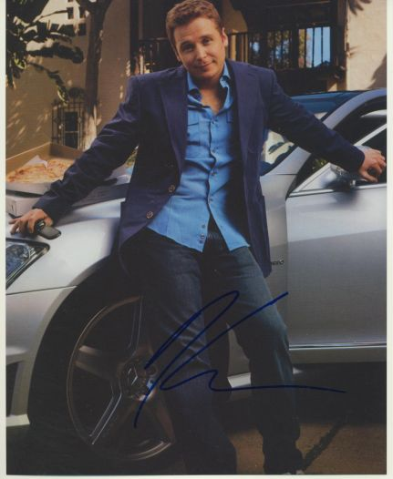 Kevin Connolly Autograph Entourage Signed 8x10 Photo