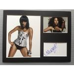 Alexandra Burke Autograph Signed 12x16 Display