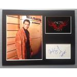 Alexis Denisof Autograph Signed 12x16 Display