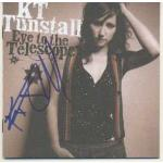 K T Tunstall Autograph Signed Eye of the Telescope CD Cover