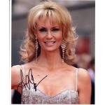 Leigh Zimmerman Autograph Signed 10x8 Photo