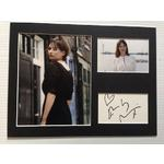 Emily Mortimer Autograph Signed 12x16 Display