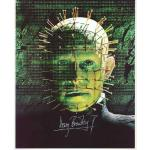 Doug Bradley Autograph Hellraiser Signed 10x8 Photo (0110)