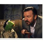 Ricky Gervais Autograph Signed 8x10 Photo