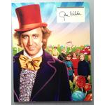 Gene Wilder Autograph Signed 14x11 Display