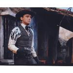 Robert Vaughn Autograph Signed 8x10 Photo (IMPERFECT)