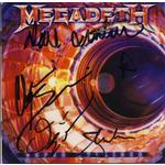 Megadeth Super Collider Signed CD Cover