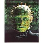 Doug Bradley Autograph Hellraiser Signed 10x8 Photo (0112)