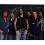 Thin Lizzy Autographs Signed 8x10 Photo