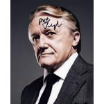 Robert Vaughn Autograph Signed 10x8 Photo