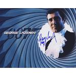 George Lazenby Autograph Signed 8x10 Photo