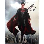 Henry Cavill Autograph Signed 14x11 Photo