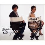 Stephen Mangan & Tamsin Greig Autographs Signed 8x10 Photo