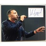 John Legend Autograph Signed 11x14 Display