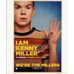 Will Poulter Autograph Signed 10x8 Photo
