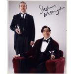 Stephen Mangan Autograph Signed 10x8 Photo