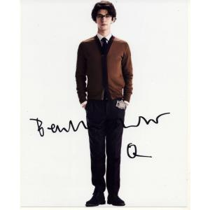 Ben Whishaw Autograph Signed 10x8 Photo