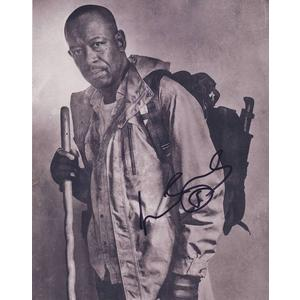 Lennie James Autograph Signed 10x8 Photo