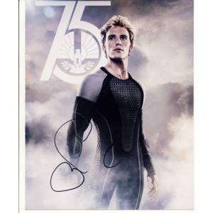 Sam Claflin Autograph Signed 10x8 Photo