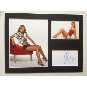 Kara Tointon Autograph Signed 12x16 Display