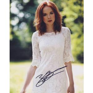 Zoe Boyle Autograph Signed 10x8 Photo