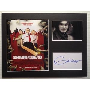 Edgar Wright Autograph Signed 12x16 Display