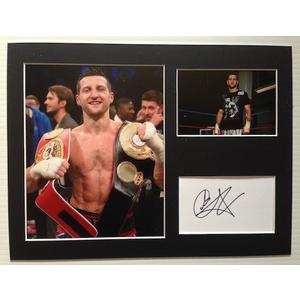 Carl Froch Autograph Signed 12x16 Display