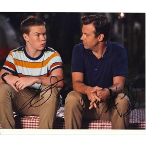 Will Poulter & Jason Sudeikis Signed 8x10 Photo