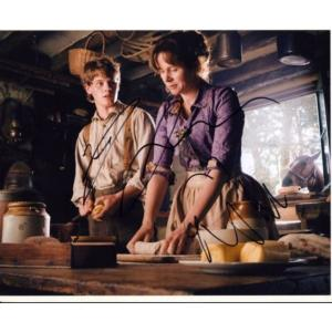 Jeremy Irvine & Emily Watson Autographs Signed 8x10 Photo