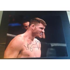 Michael Bisping Autograph Signed 11x14 Photo