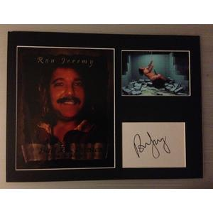 Ron Jeremy Autograph Signed 12x16 Display