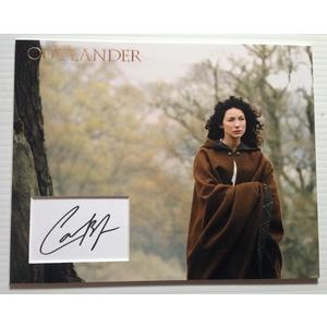 Caitriona Balfe Autograph Signed 11x14 Display