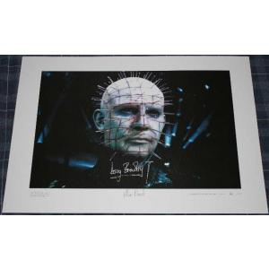 Doug Bradley Autograph Signed Limited Edition Print 44/50