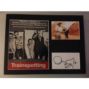 Danny Boyle Autograph Signed 12x16 Display