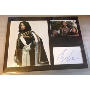 Ryan Gage Autograph Signed 12x16 Display