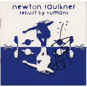 Newton Faulkner Autograph Signed CD Cover