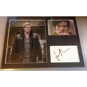 James Norton Autograph Signed 12x16 Display