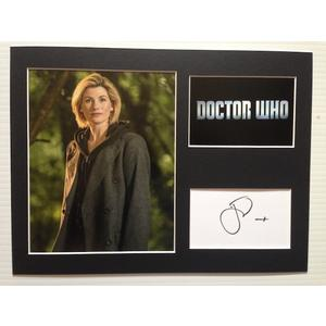 Entertainment Memorabilia Autographs-original Jodie Whittaker Signed Autographed Photo Moderate Price