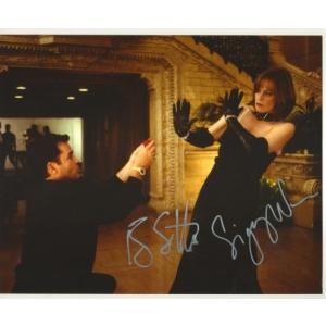 Ray Liotta and Sigourney Weaver Autographs Signed 8x10 Photo